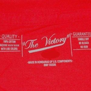 Victory Brand Shirts - University Houston Cougars Basketball T- Shirt Red